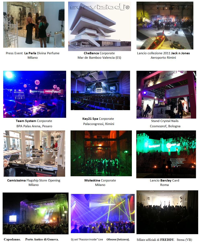 eventi personalizzata